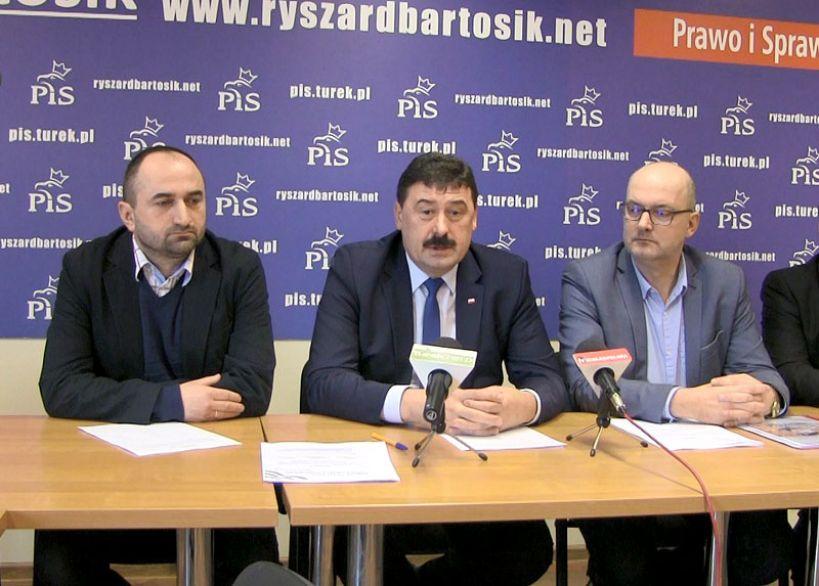 Wideo: Konferencja prasowa Zarządu PiS Turek