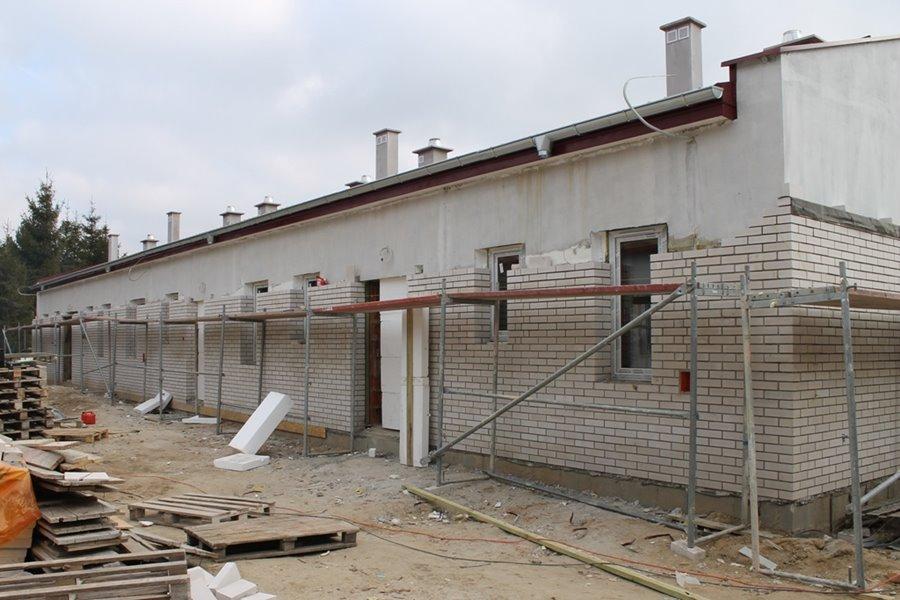 Budowa mieszkań socjalnych na ukończeniu