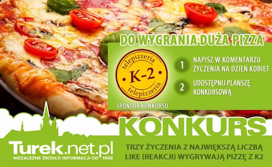 Konkurs: Wygraj pizzę z K2!