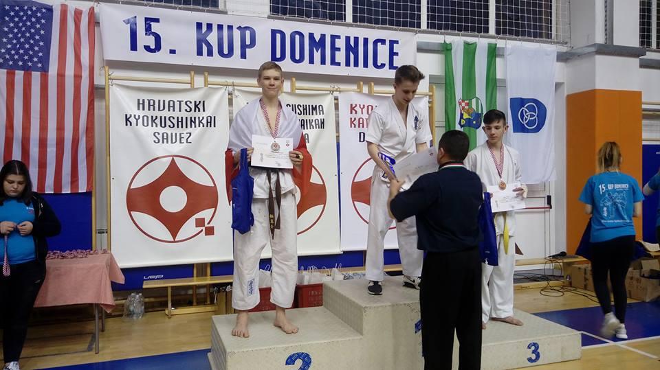 II miejsce Alberta Jesiołkiewicza na 15th Domenica Cup - foto: Wielkopolski Klub Sportów Walki Turek - Tuliszków