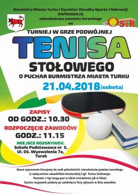 Turniej Deblowy Tenisa Stołowego