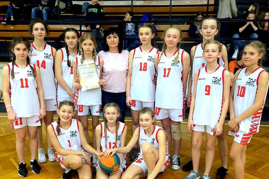 ZS-P w Dobrej: III miejsce w Mistrzostwach Rejonu w Minikoszykówce
