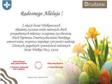 Życzenia Wielkanocne Gminy Brudzew
