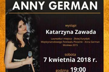 Potworów: Przeboje Anny German zabrzmią w sali OSP