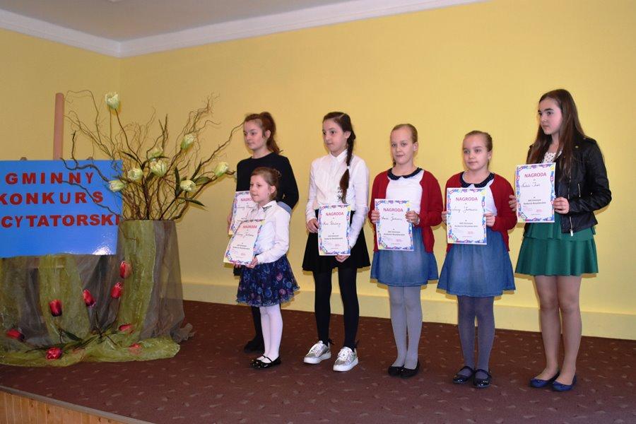 Konkurs recytatorski w Tuliszkowie