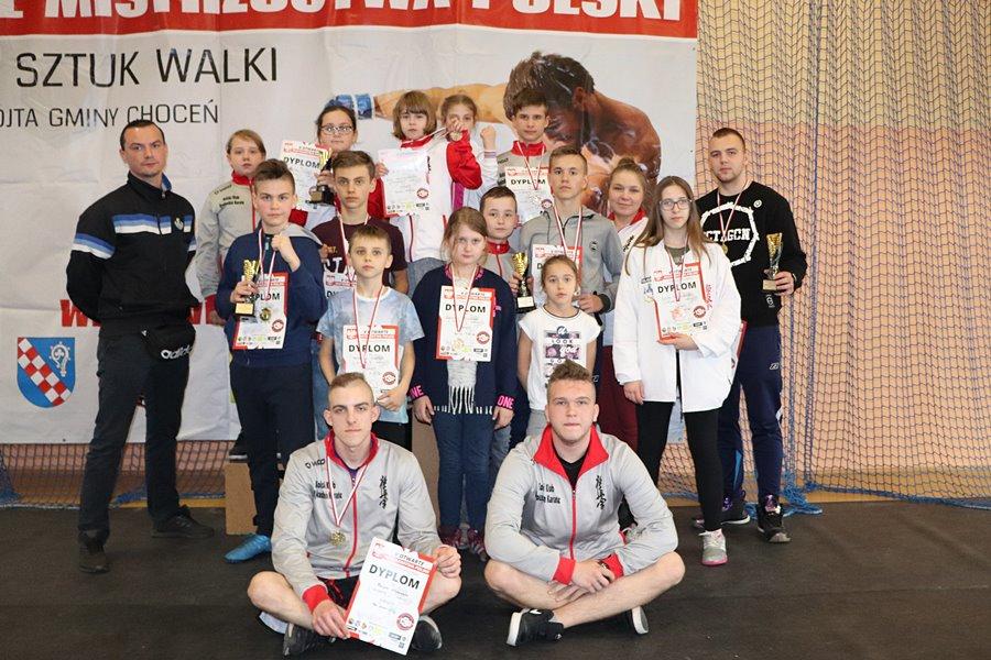 Karate: Mistrzostwa w Wilkowicach - foto: archiwum klubu