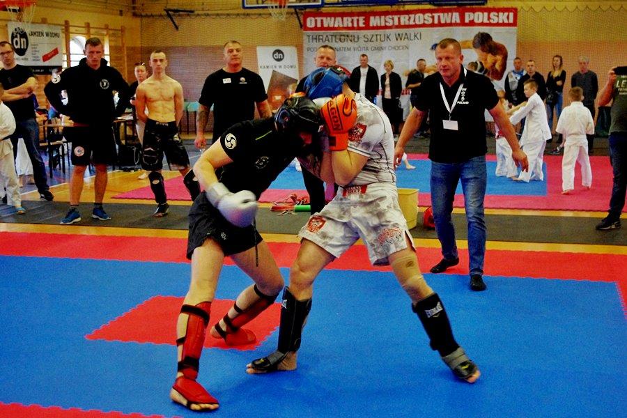 Turkowscy kick-boxerzy na turnieju w Wilkowicach