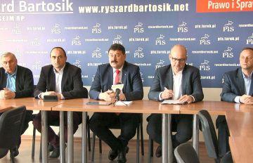 Wideo: Konferencja prasowa Zarządu Powiatowego PiS