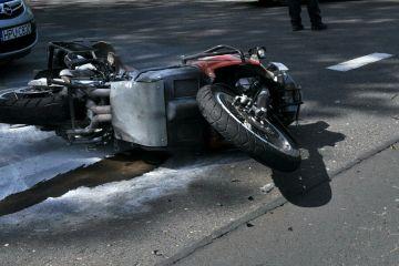 Mikulice: Motocyklista stracił życie. Mężczyzna...