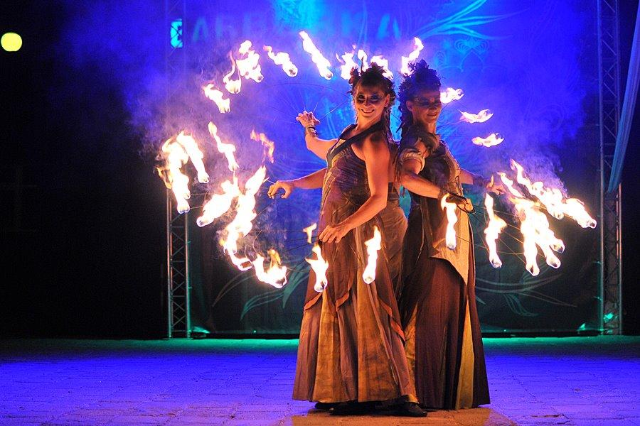Ognisty spektakl zakończył 26. Turkostradę - foto: M. Derucki
