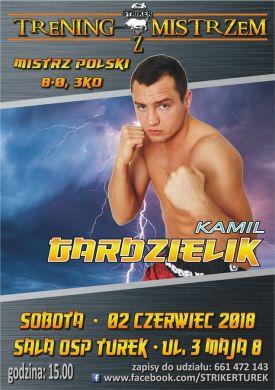 Trening z Kamilem Gardzielikiem