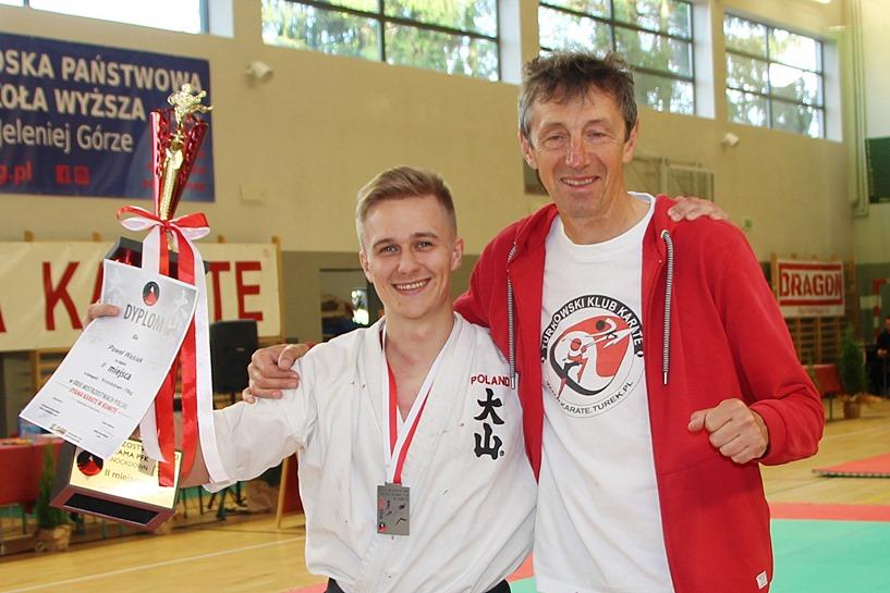 Paweł Wasiak z Oyama Karate Wicemistrzem Polski