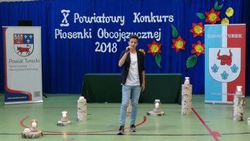 X Powiatowy Konkurs Piosenki Obcojęzycznej -...