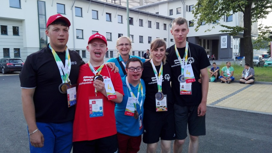 Wychowankowie SOSW na XI Ogólnopolskich Letnich Igrzyskach Olimpiad Specjalnych Katowice-Chorzów-Mikołów