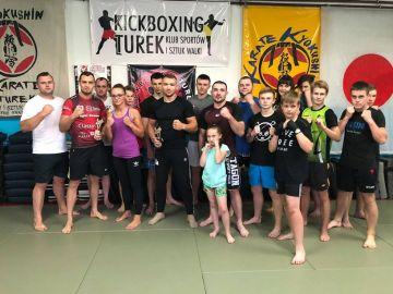 Kickboxerzy zakończyli sezon szkoleń
