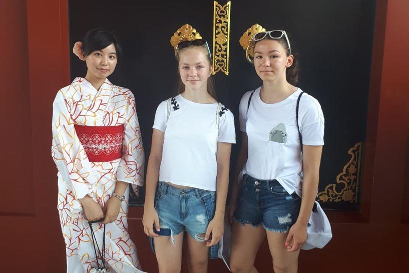 Tuliszków: Trenowały w Japonii. Natalia i Paula walczyły i poznawały Kraj Kwitnącej Wiśni