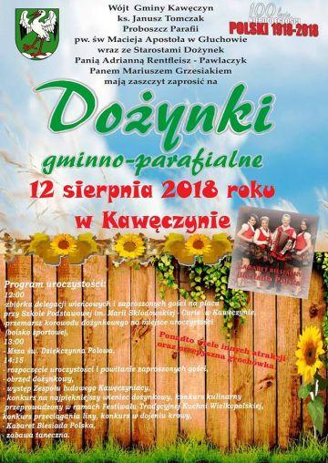 Kawęczyn: Będą świętować dożynki z Biesiadą Polską