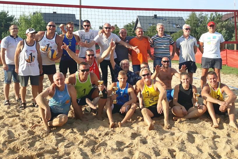 Słodków Kolonia: VIII Turniej Siatkówki Plażowej
