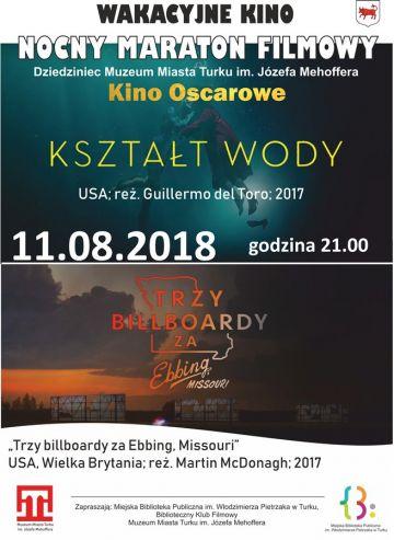 Wakacyjne kino plenerowe: Oscary na dziedzińcu muzeum!
