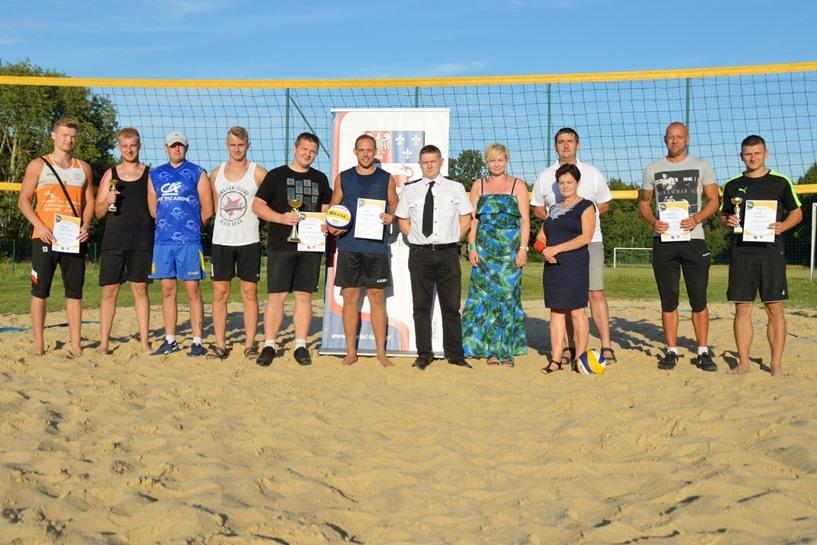 Bibianna: Moczyński i Mazur zwycięzcami Otwartego Turnieju Siatkówki Plażowej - foto: Arkadiusz Wszędybył