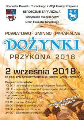 Powiatowo-Gminno-Parafialne Dożynki w Rogowie