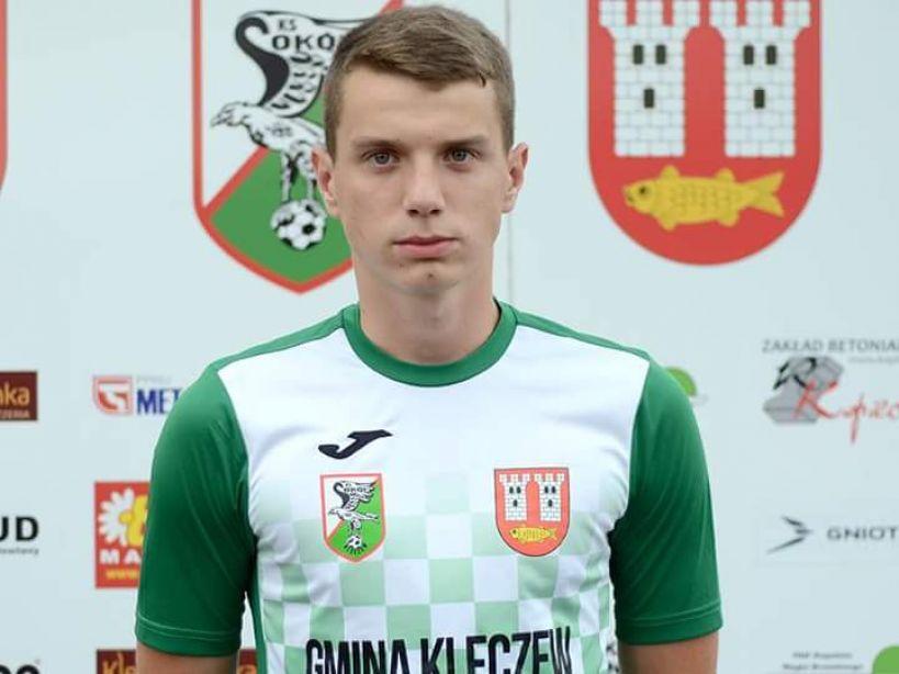 Kuba Młynarski zawodnikiem III-ligowego Sokoła Kleczew