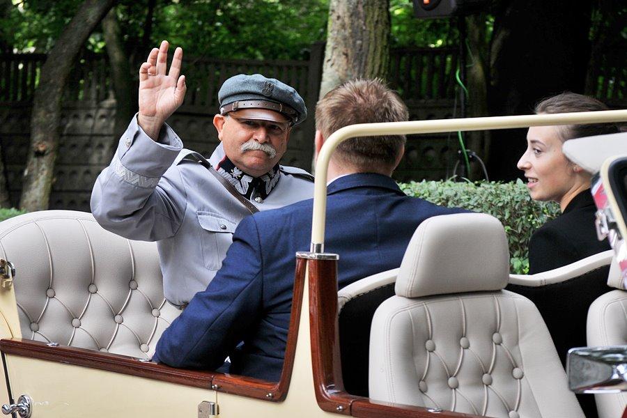 Marszałek z wizytą w Turku - foto: Marcin Derucki