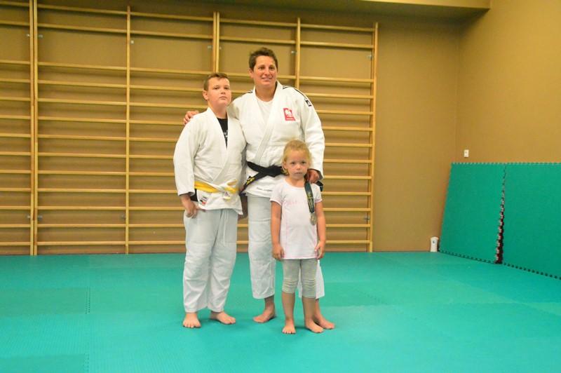 Tuliszków: Judocy trenowali z Mistrzynią. Aneta Szczepańska wyjaśniła, jak sięga się po medale - foto: Arkadiusz Wszędybył