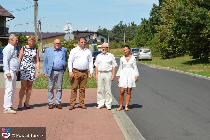 Tuliszków: Powiat Turecki zakończył kolejną inwestycję drogową