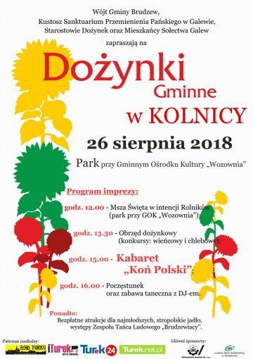 Kolnica: Wesołe dożynki z Koniem Polskim