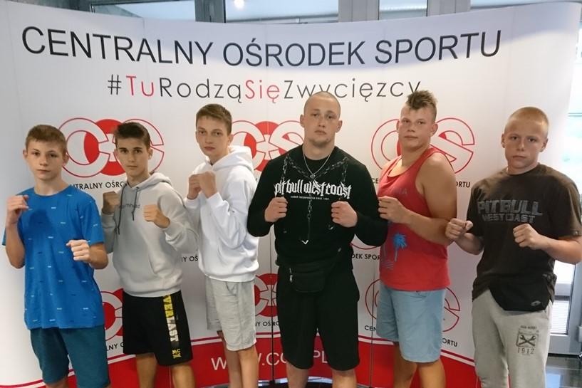 Striker Turek na Międzynarodowym  Zgrupowaniu Kadry Polski Polskiej Federacji Kickboxingu w Zakopanem