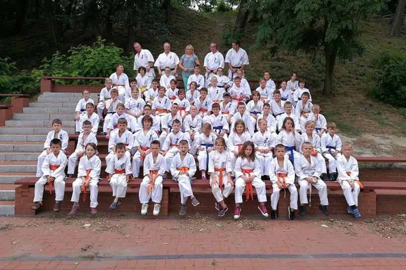 Karatecy spędzali wakacje w Powidzu