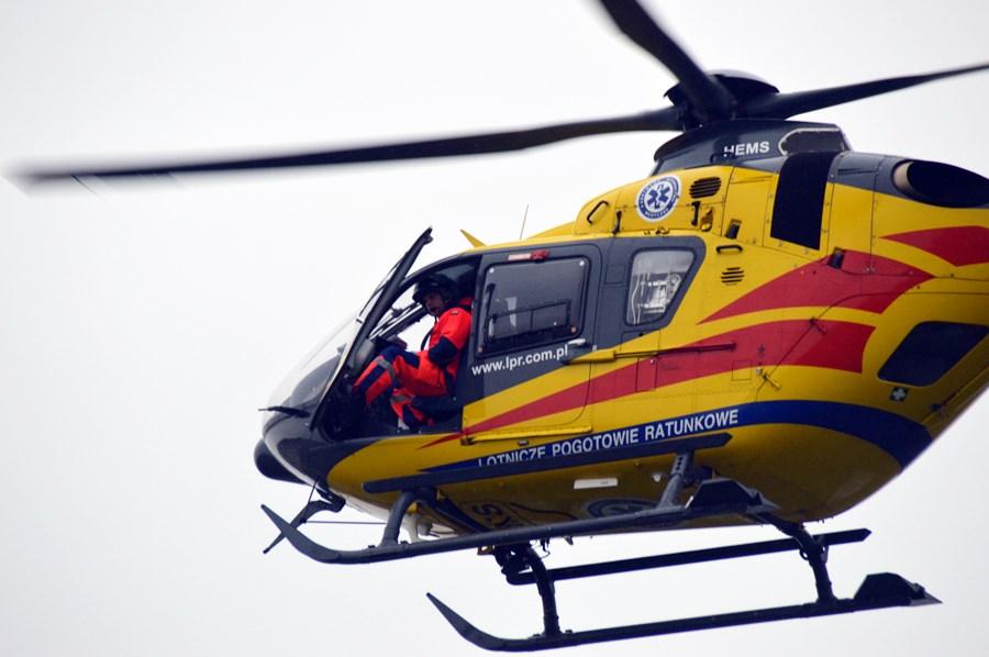 Tuliszków: Autobus potrącił 8-latka. Przylot śmigłowca okazał się niezbędny