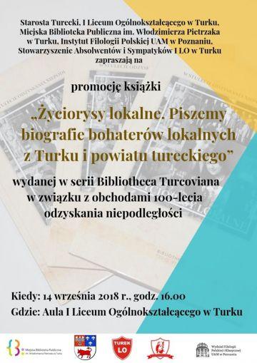 Poznaj lokalnych bohaterów. Nowa pozycja wydawnicza Bibliotheca Turcoviana