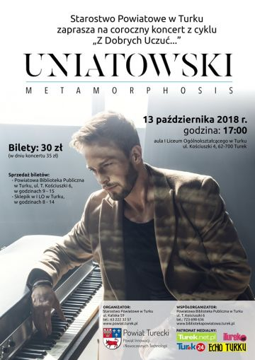 Turek: Sławek Uniatowski zaśpiewa w licealnej auli