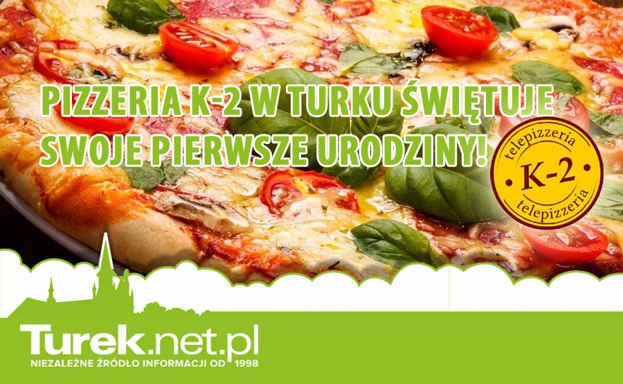 Pizzeria K-2 w Turku świętuje swoje pierwsze urodziny!