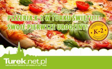 Pizzeria K-2 w Turku świętuje swoje pierwsze...