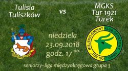 Mecz: Tulisia Tuliszków vs. MGKS Tur 1921 Turek