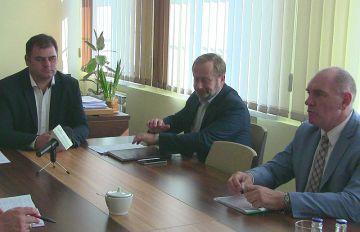 Wideo: Konferencja prasowa w Starostwie...