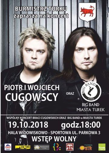 Koncert: Bracia Cugowscy oraz Big Band Miasta...