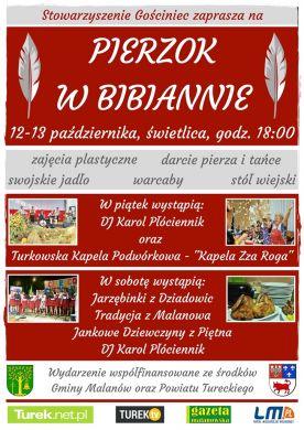 Pierzok 2018 - darcie pierza w Bibiannie