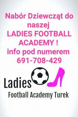 Ladies Football Academy Turek - nabór zawodniczek