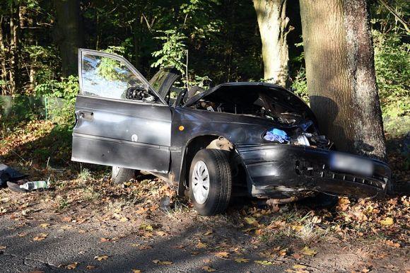 Śmiertelny wypadek w Rudzie. Samochód uderzył w...