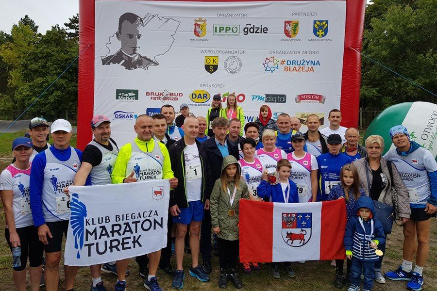 Klub Biegacza Maraton Turek na I Otwockim Biegu Charytatywnym - foto: materiał nadesłany