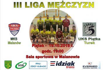 Siatkarskie derby powiatu! MKS Malanów vs UKS Piątka Turek