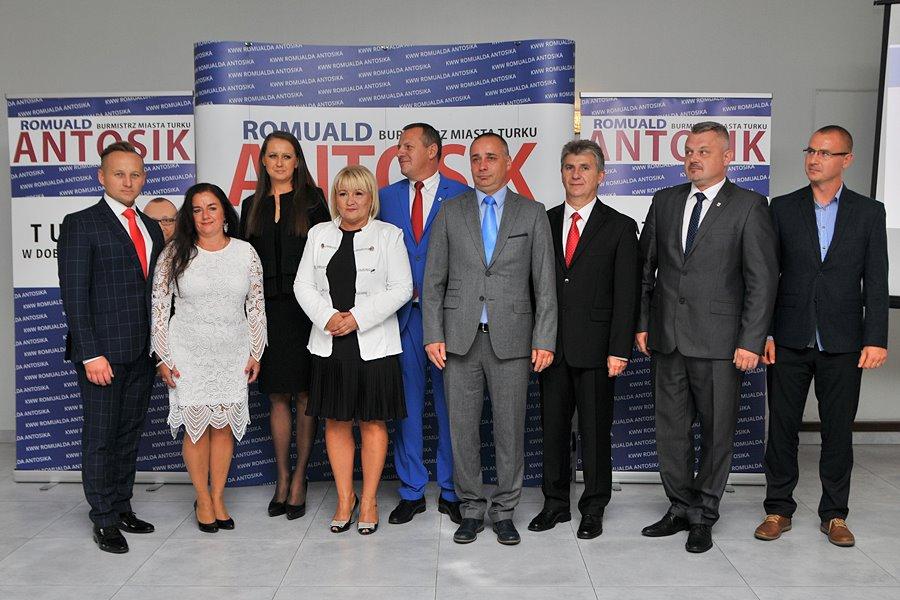 Ogromny sukces KWW Romualda Antosika! 12 mandatów w Radzie Miejskiej Turku - foto: Marcin Derucki