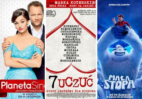 Polskie filmy w listopadzie w kinie Tur