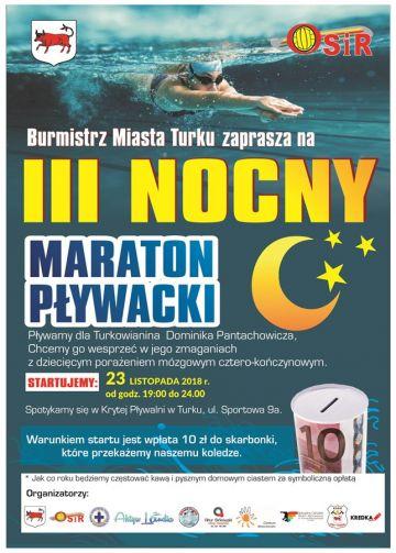 III Nocny Maraton Pływacki