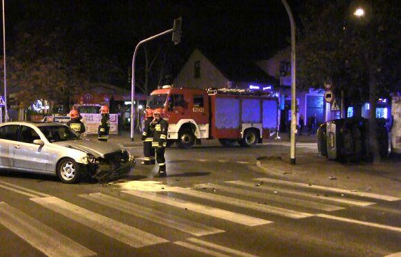 Wideo: Zderzenie na Kolskiej w Turku