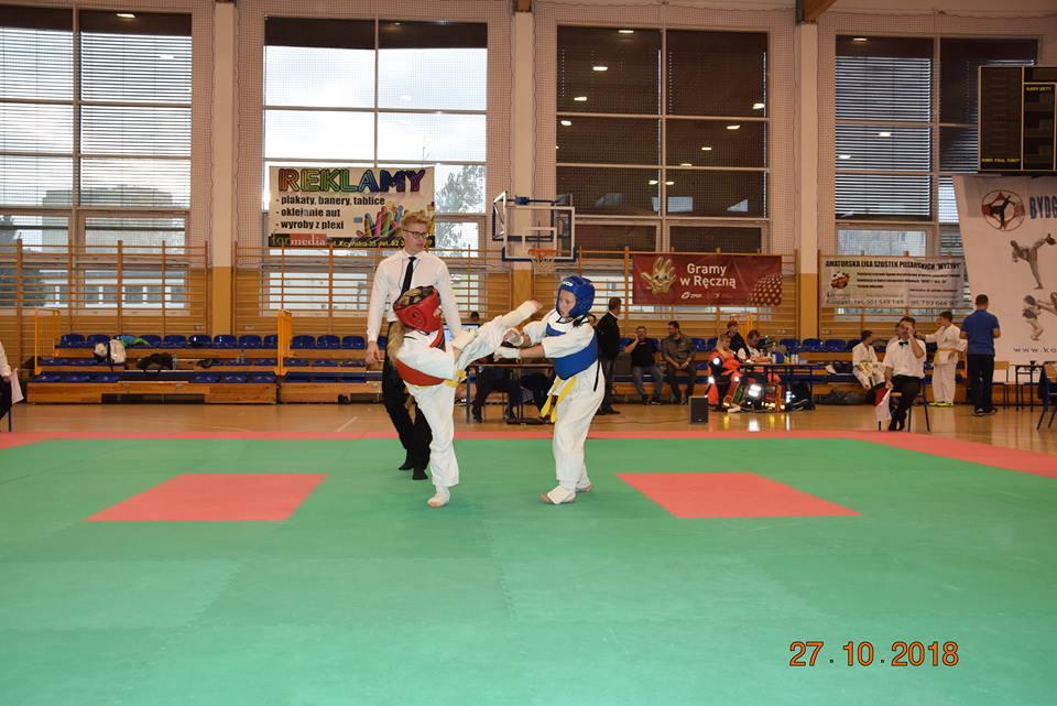 III Ogólnopolski Turniej Karate w Bydgoszczy - foto: Wielkopolski Klub Sportów Walki Turek - Tuliszków
